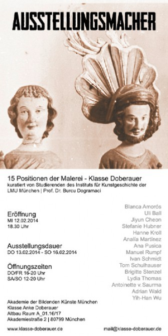 AUSSTELLUNGSMACHER. Collective exhibition
