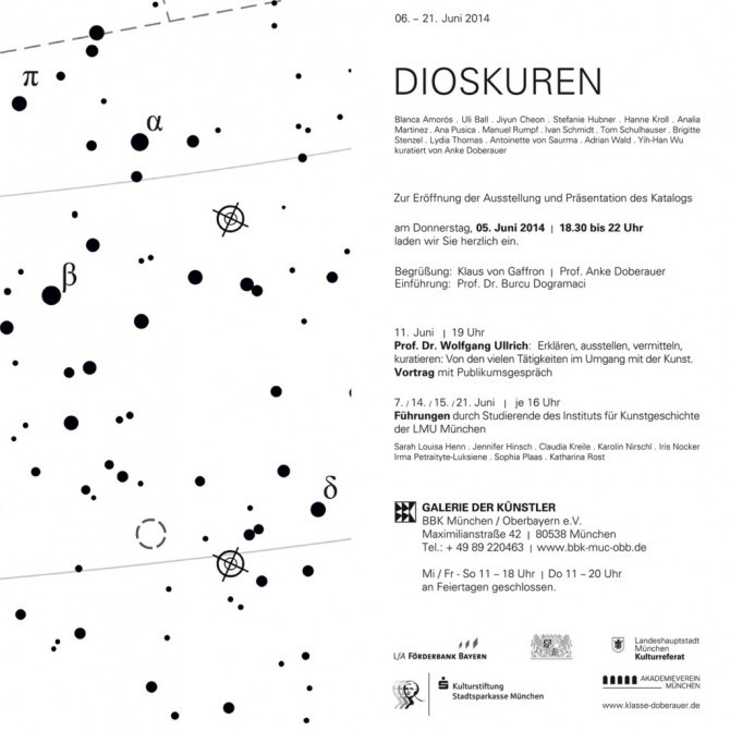 DIOSKUREN. Collective exhibition