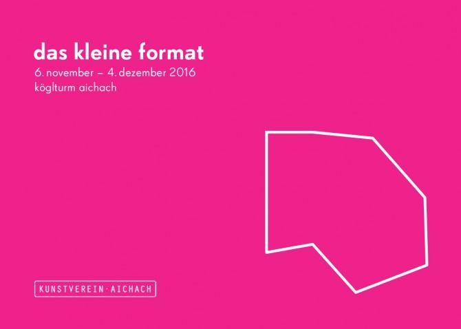 DAS KLEINE FORMAT. Group show.