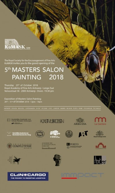 MASTERS SALON PAINTING 2018. Exhibition