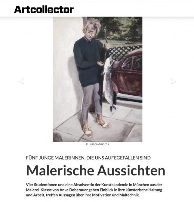 ARTCOLLECTOR MAGAZIN. Interview.
