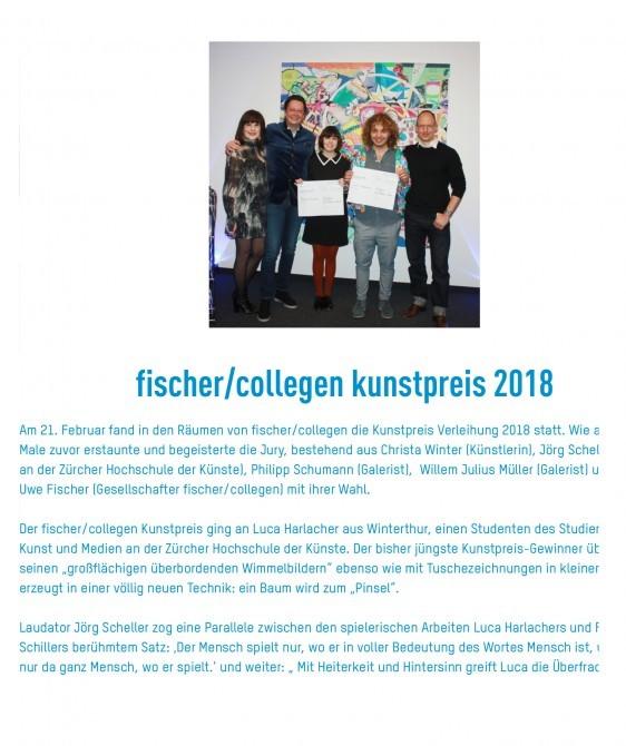 FISCHER/COLLEGEN. Prize